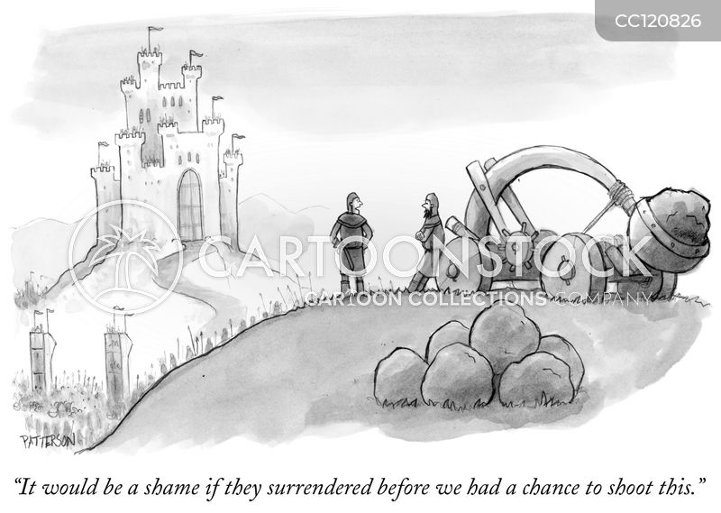 besieging cartoon