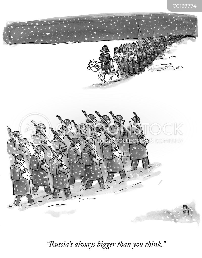 Russian Army cartoon