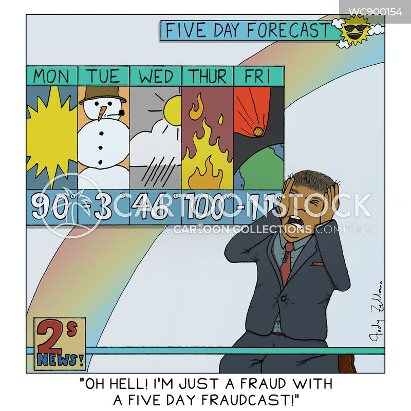 weather forecasters cartoon