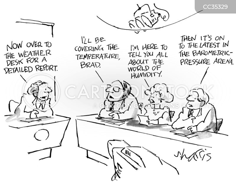Pressures cartoon