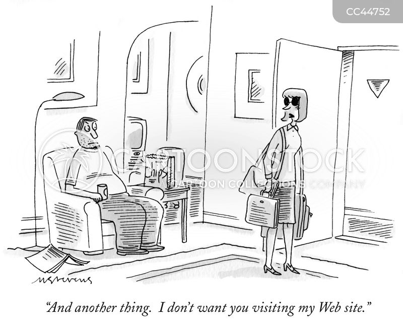 cyberstalking cartoon