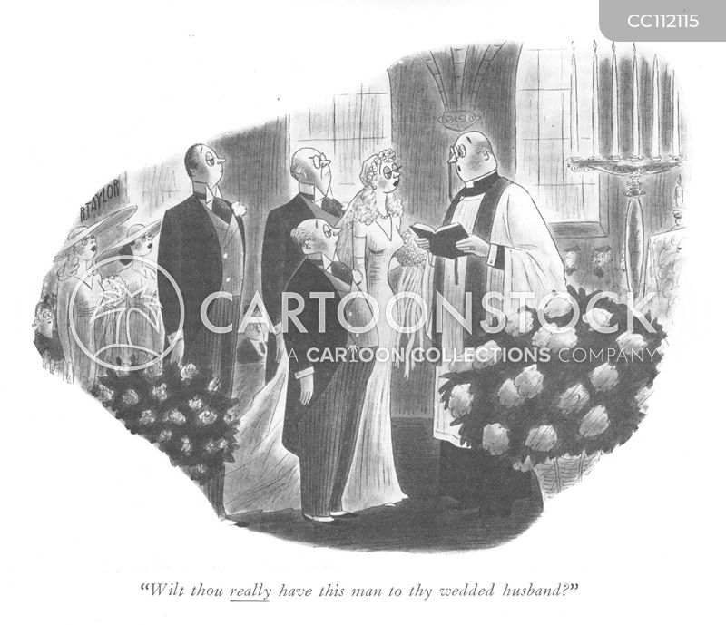 wedding cartoon