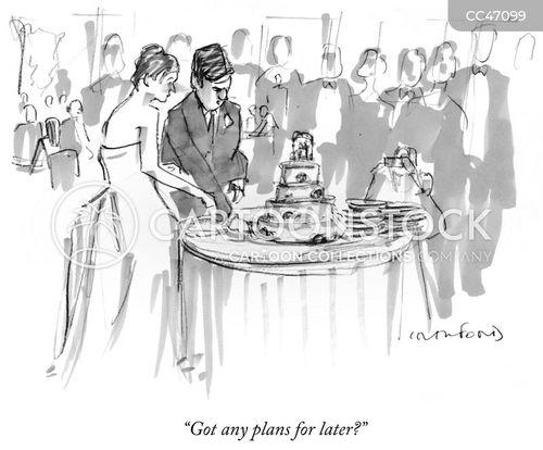 wedding tradition cartoon