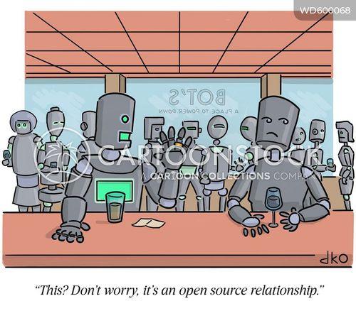 open relationship cartoon