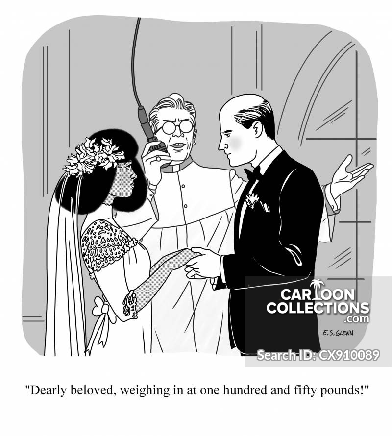 weigh cartoon