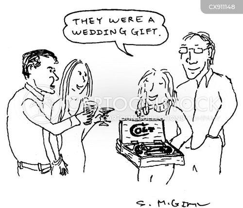 wedding gift cartoon