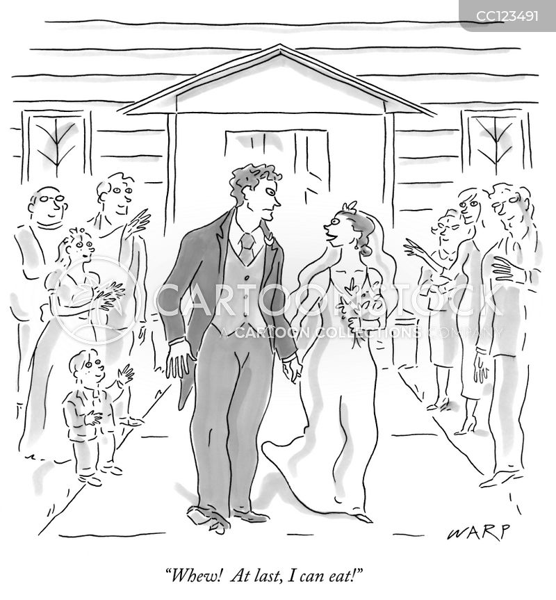 wedding dresses cartoon