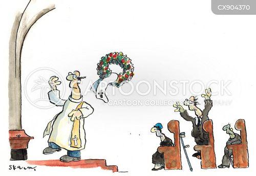 wedding traditions cartoon