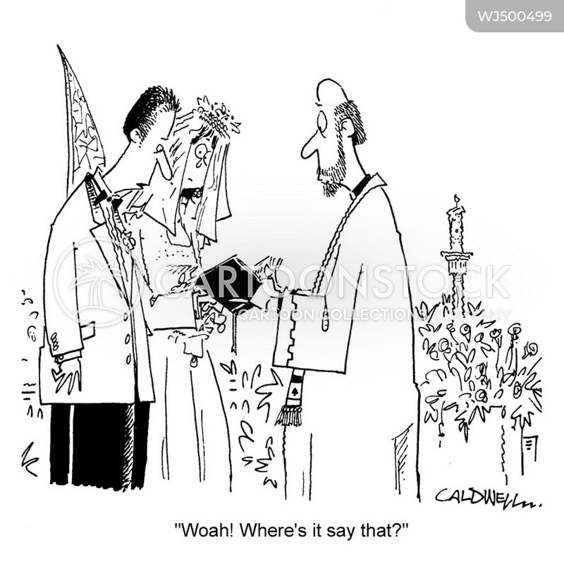 wedding vow cartoon
