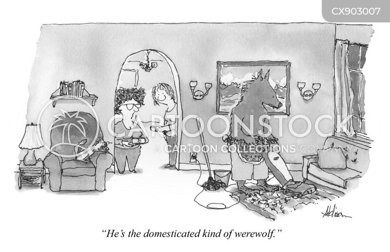 werewolves cartoon