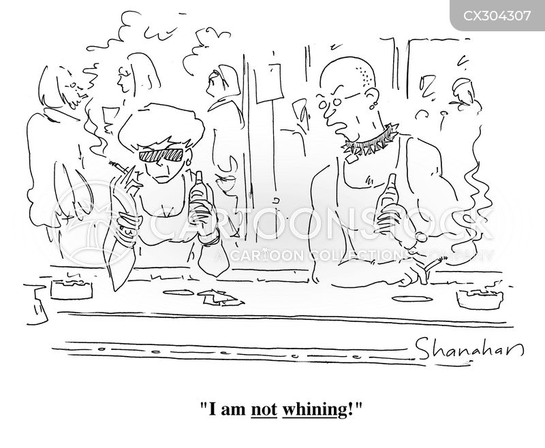 whinge cartoon