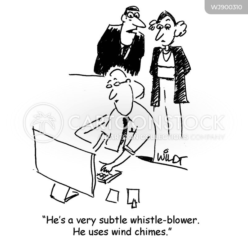 whistle-blowers cartoon