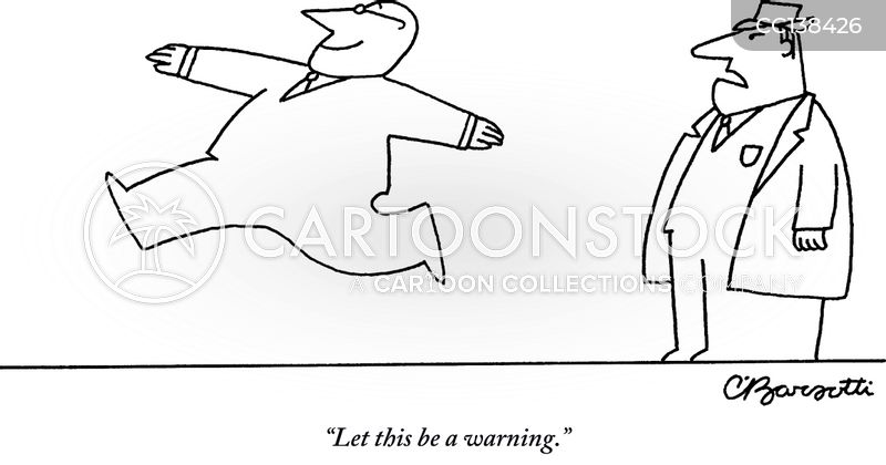 slap on the wrist cartoon