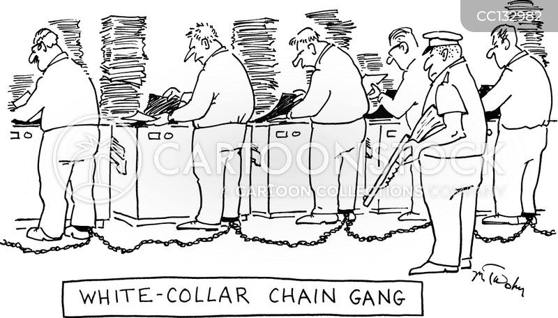 chained up cartoon