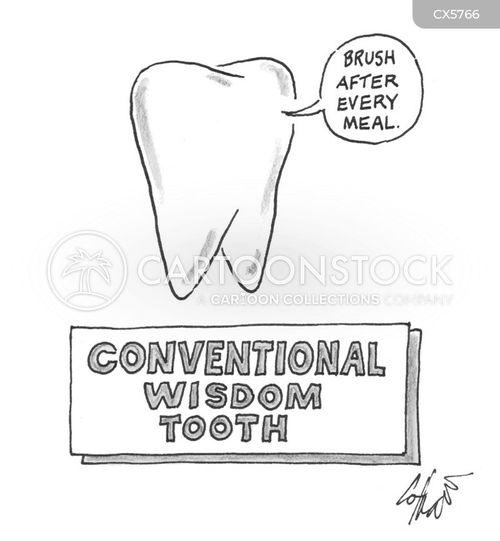 wisdom tooth cartoon