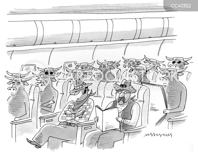 passenger cartoon