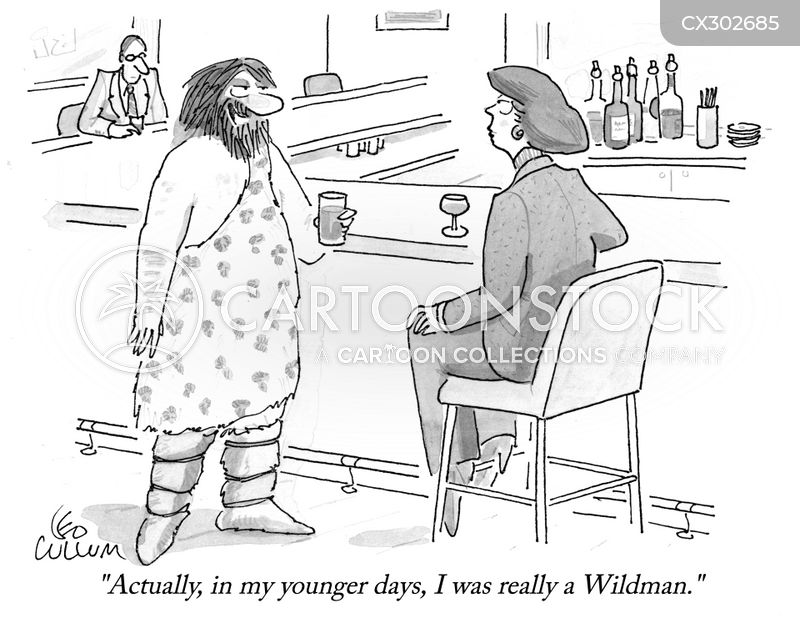wildman cartoon