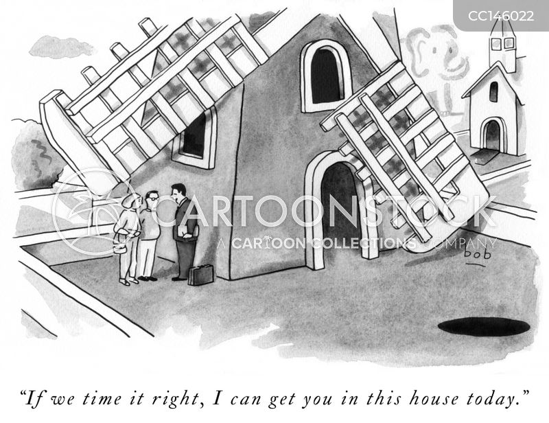 property viewing cartoon