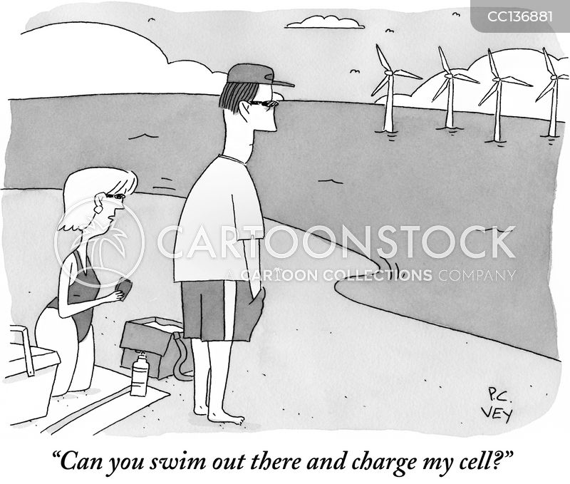 Charge cartoon