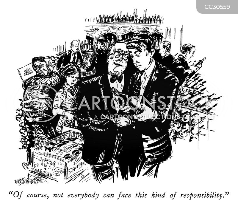 responsible cartoon