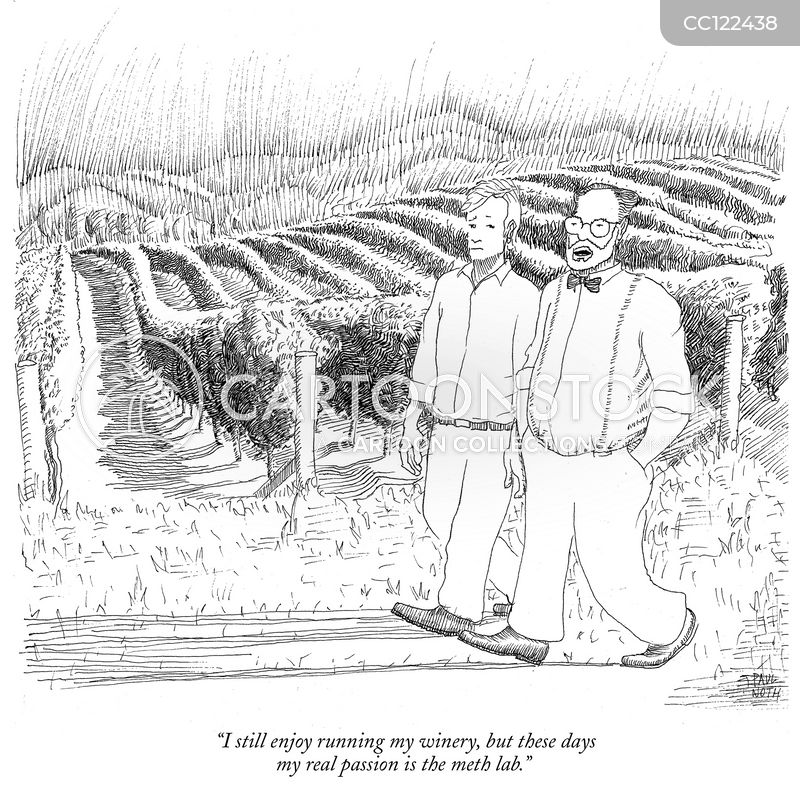 vineyards cartoon