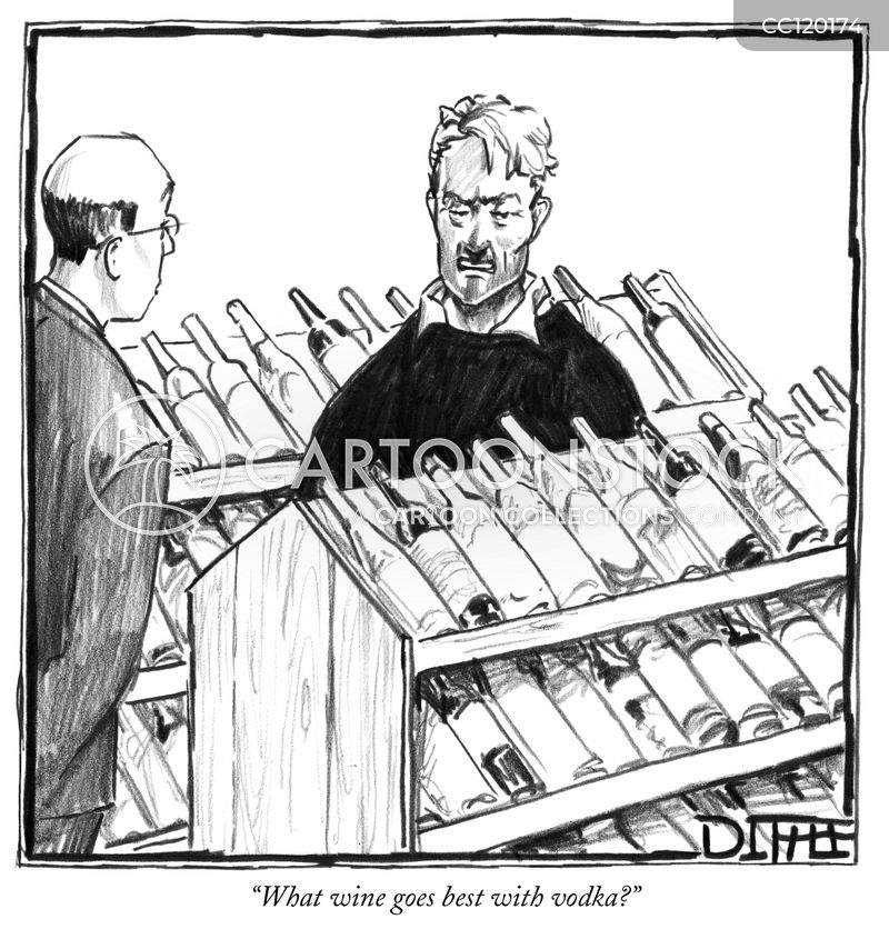 retailers cartoon