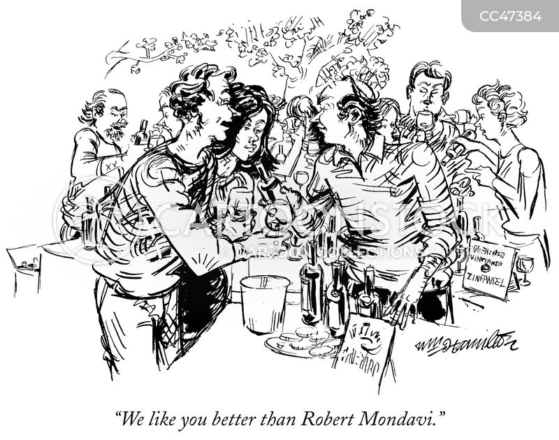 winemakers cartoon