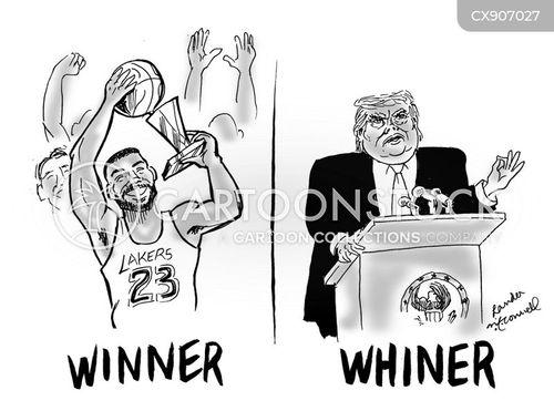 whiner cartoon