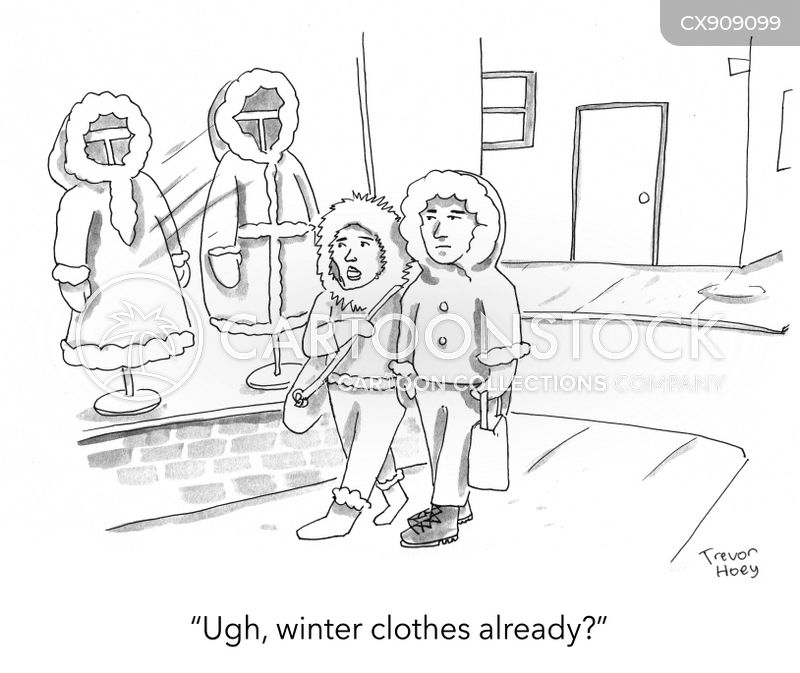 fashion industry cartoon