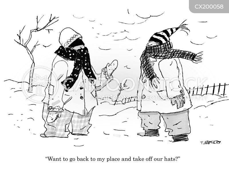 winter gear cartoon
