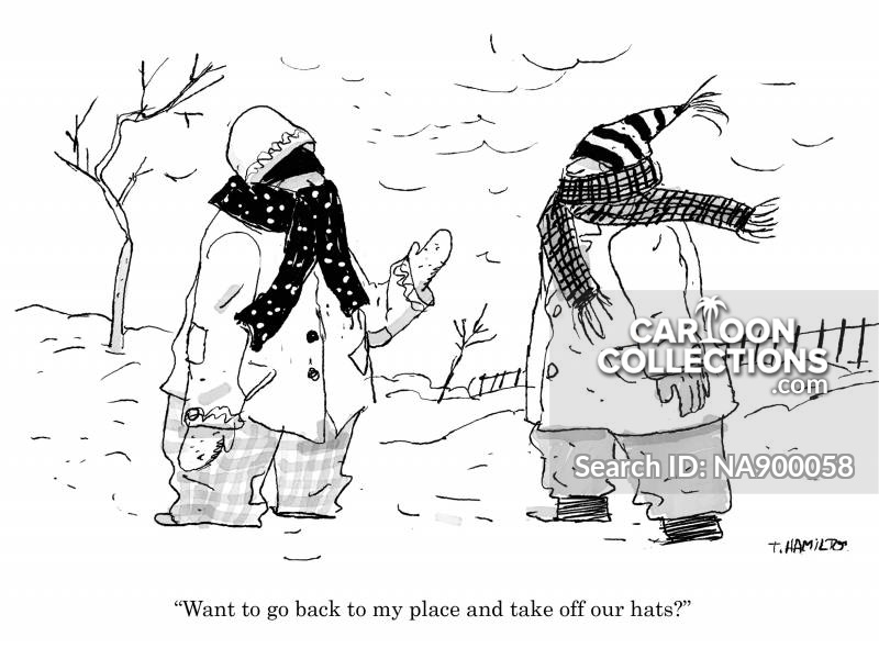 winter hat cartoon