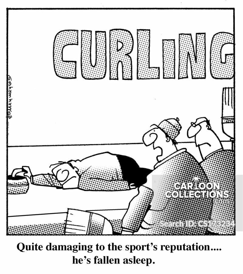 ice sports cartoon