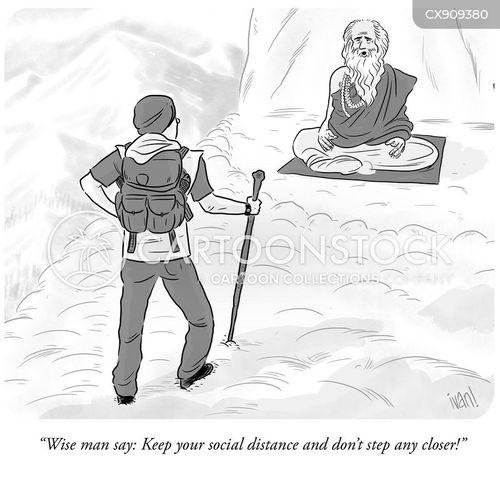 stepped cartoon