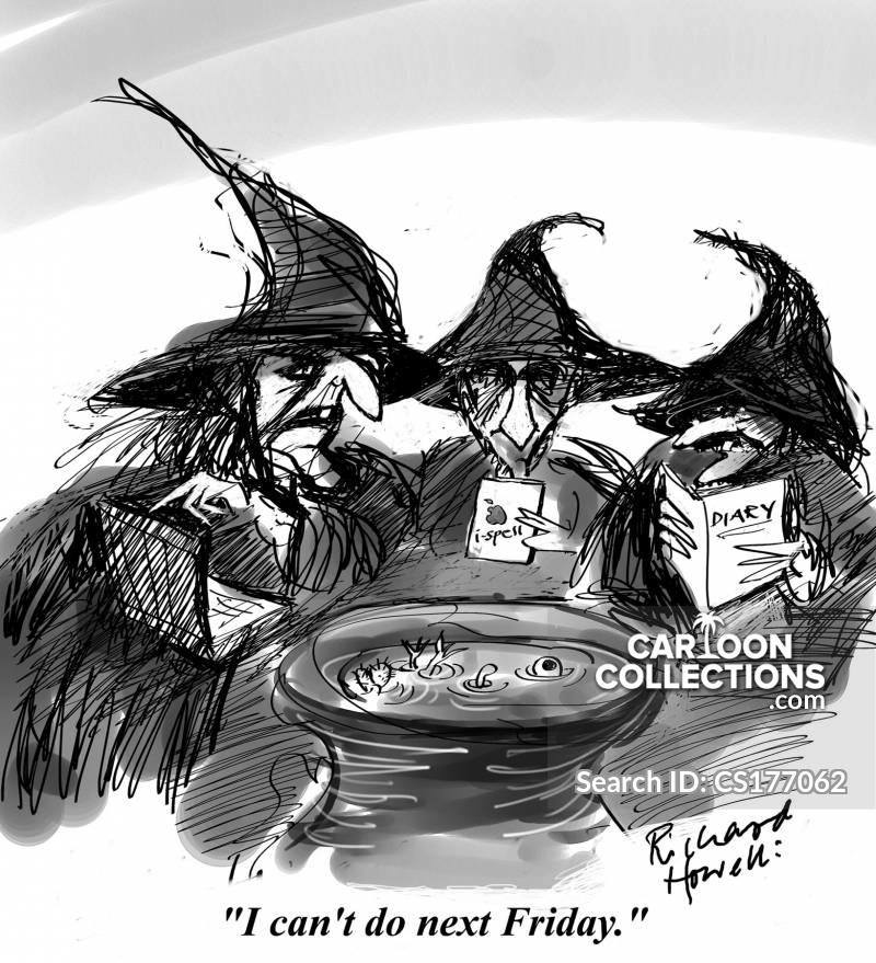 when shall we three meet again cartoon