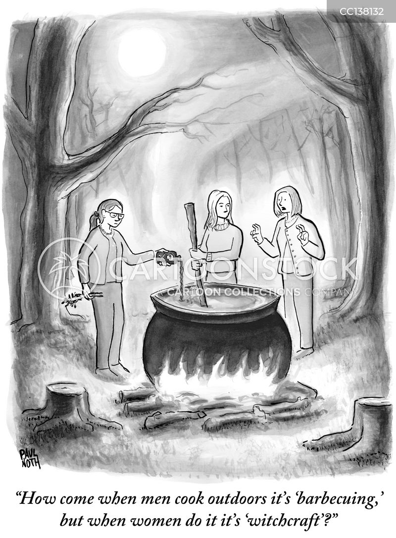 pot stirring cartoon