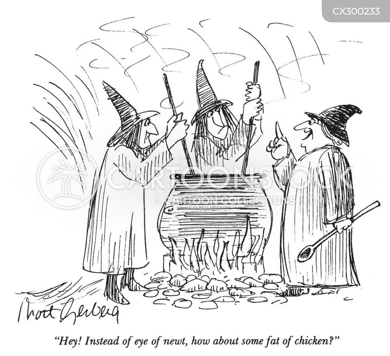 Witch's Cauldrons cartoon