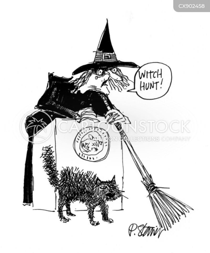 witchhunt cartoon