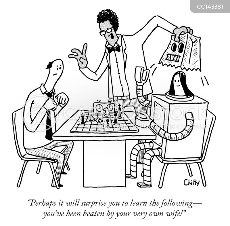 chess club cartoon
