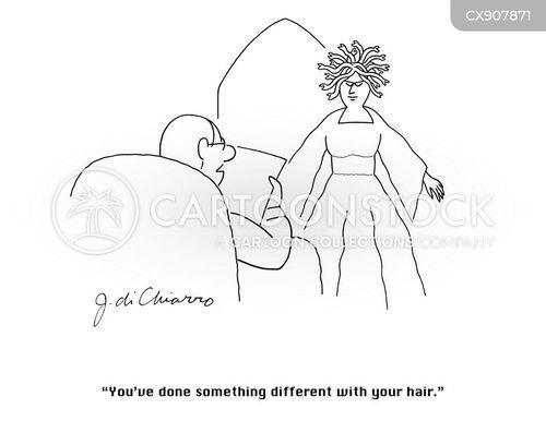 gorgons cartoon