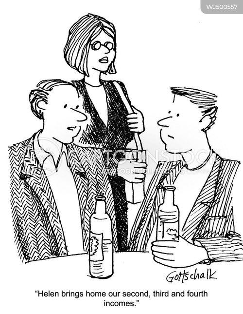 multi-tasks cartoon