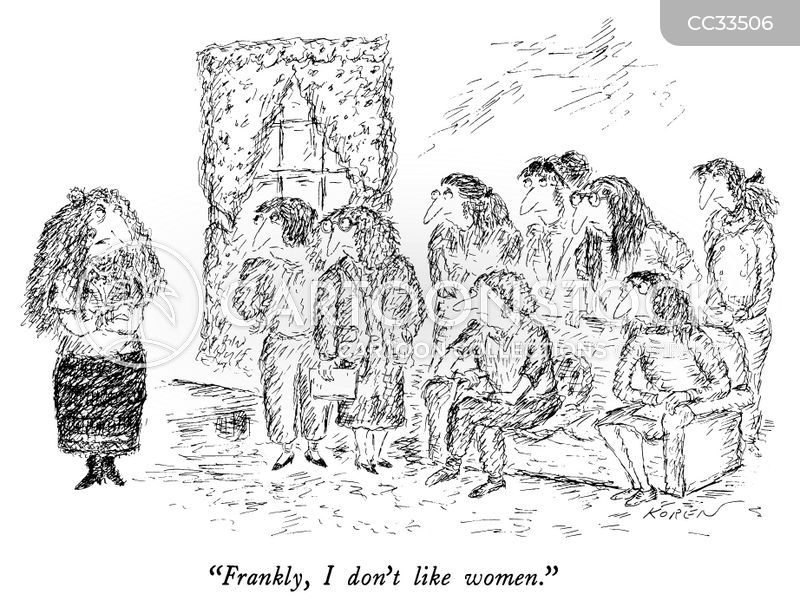 Women's Issues cartoon