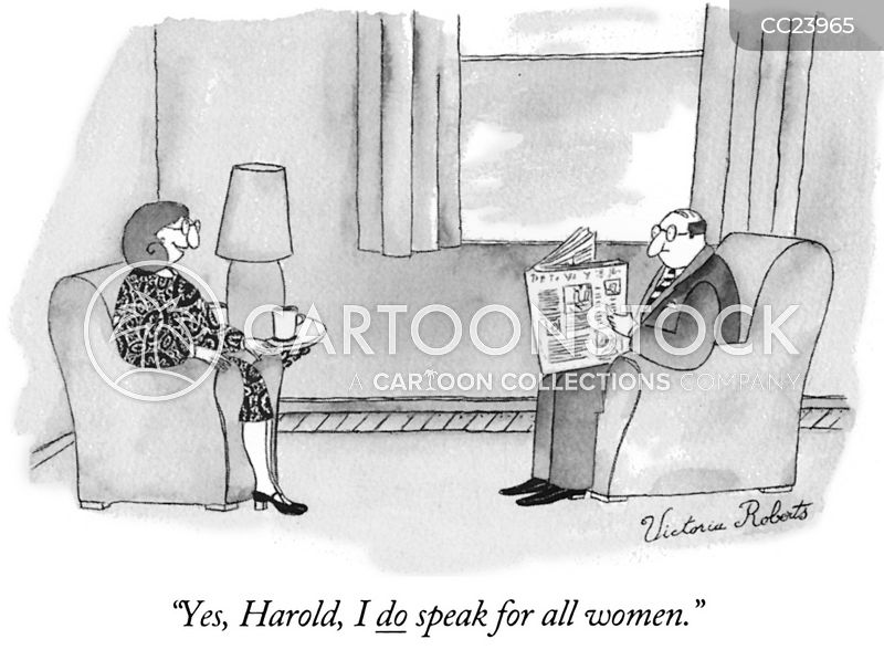 gender inequality cartoon