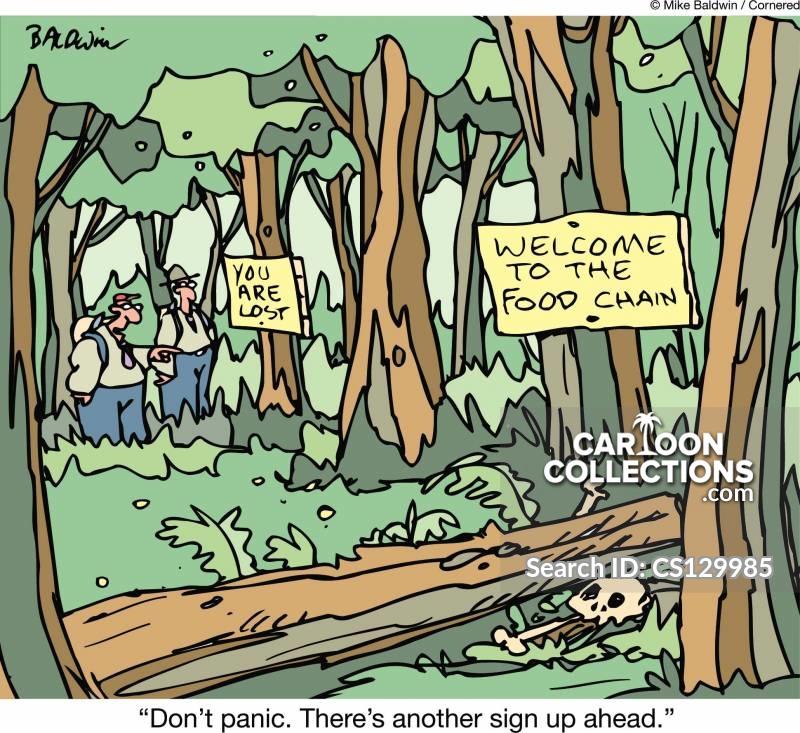 off the beaten trail cartoon