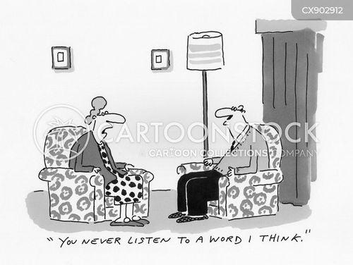 inattentive cartoon