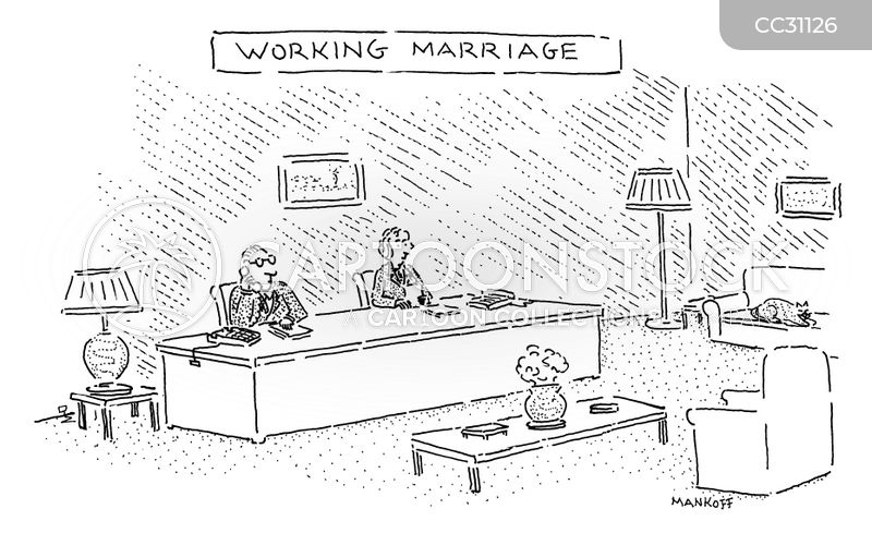 Working Marriages cartoon