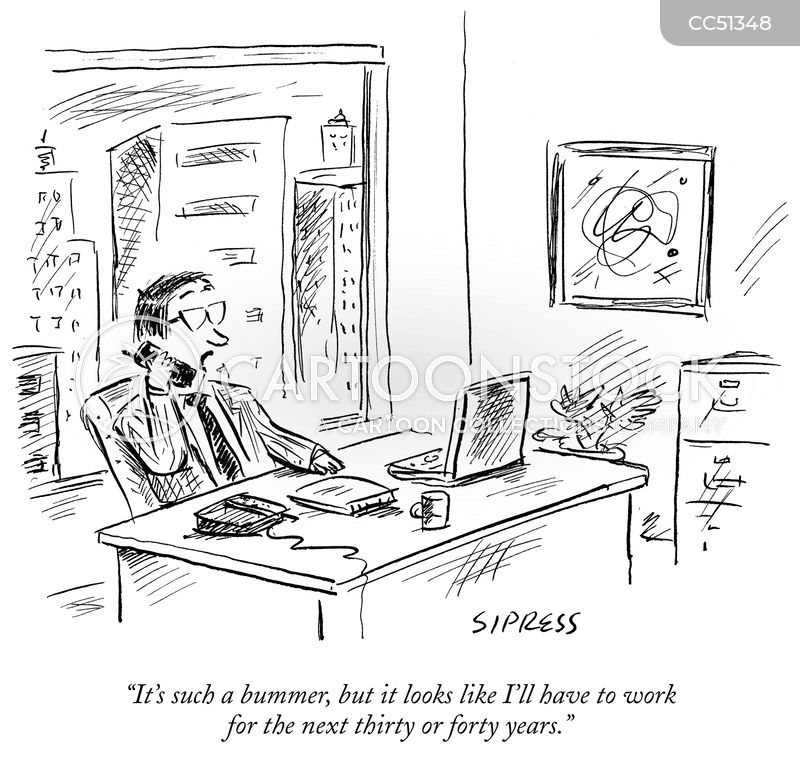 Work Addicts cartoon