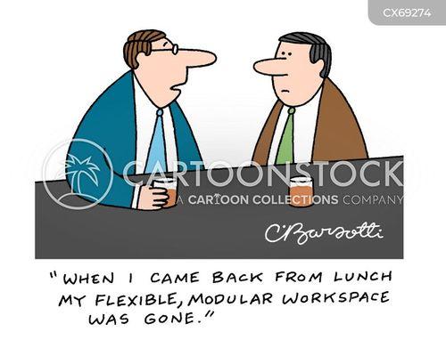 lunch break cartoon