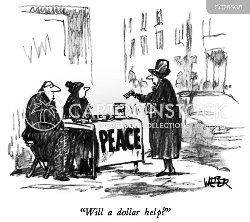 world peace cartoon