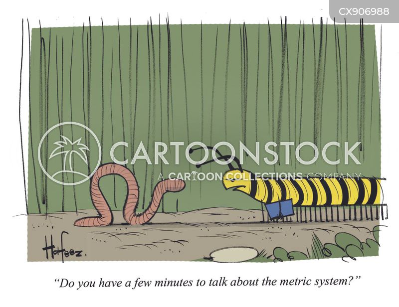 centimeters cartoon