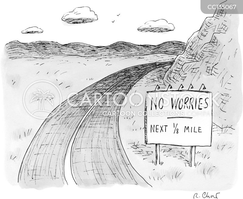 road-sign cartoon